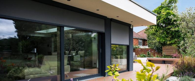 External Blind For Bi-Fold Door cb blinds