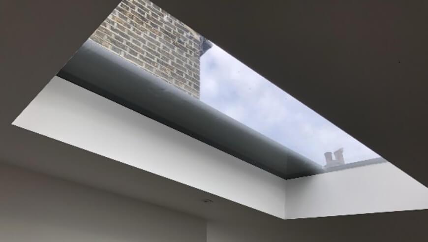 external roof lantern blind