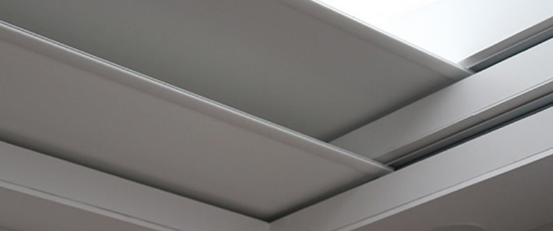 Blindspace for your roof lantern